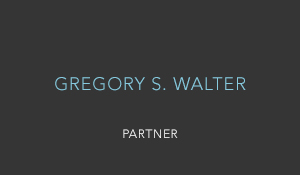 GREGORY S. WALTER
