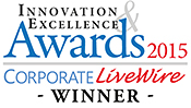 Innovation Excellence Awards 2015 Corporate Livewire Winner