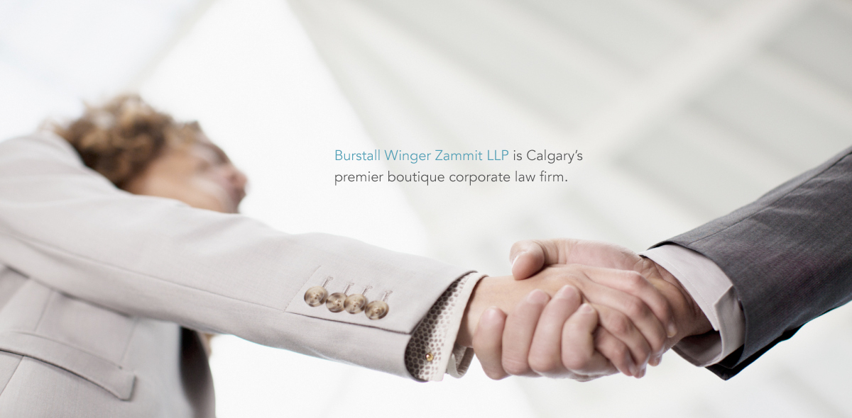 Burstall Winger Zammit LLP is Calgary's premier boutique corporate law firm.